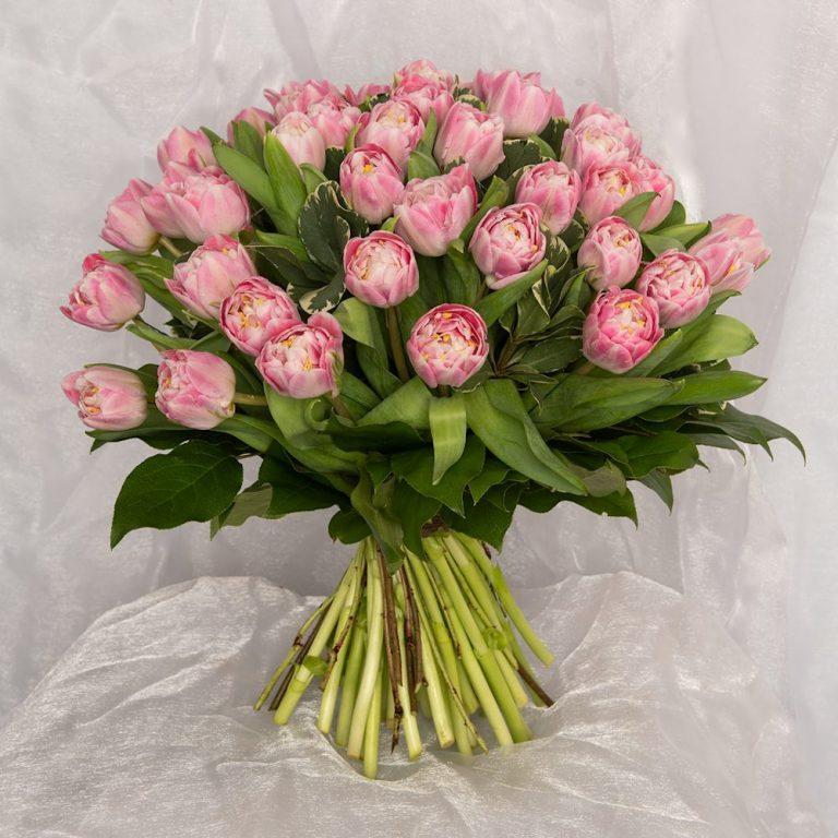 Bouquet of flowers delivered to door